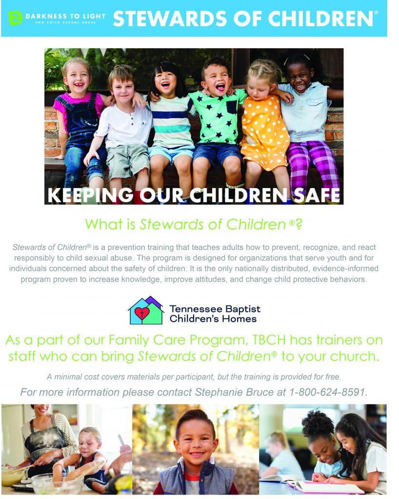 Stewards of Children Info